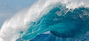 Thick Wave at Teahupo'o