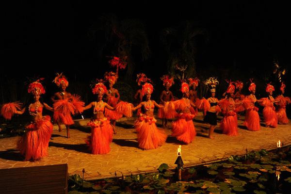 Female Tahitian Dancers