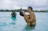 Shira and Chuck Badger in Bora Bora, PHOTO: Helene Havard