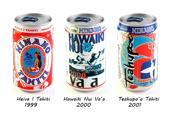Hinano Collector Cans