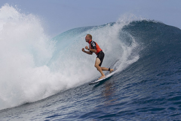 Mick Fanning wins the 2012 Billabong Pro Tahiti, Photo: ASP/ Kirstin