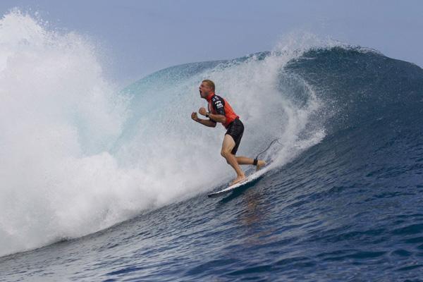 Mick Fanning wins the 2012 Billabong Pro Tahiti, Photo: ASP/ Kirstin