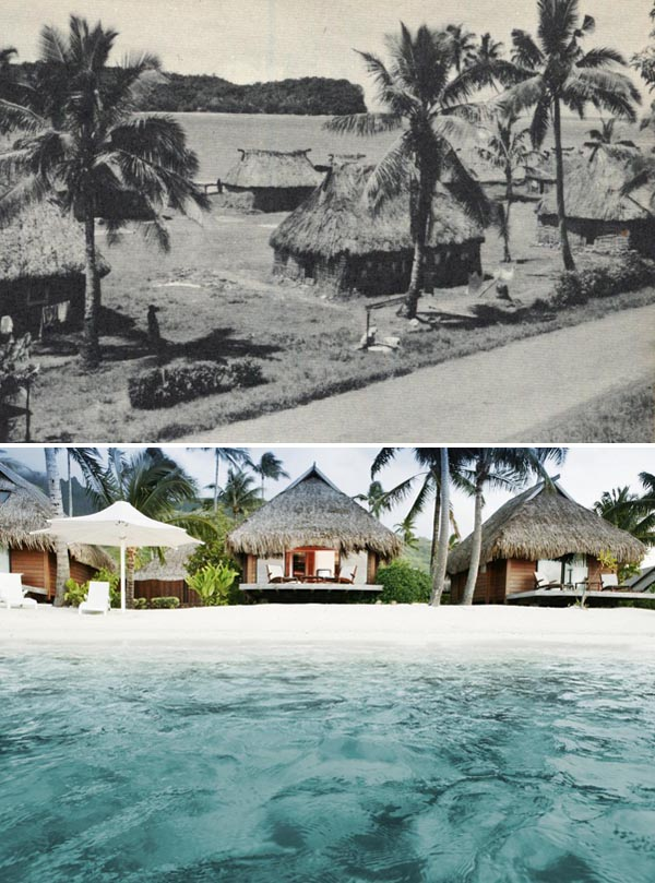 Bungalows in Tahiti, Past and Present