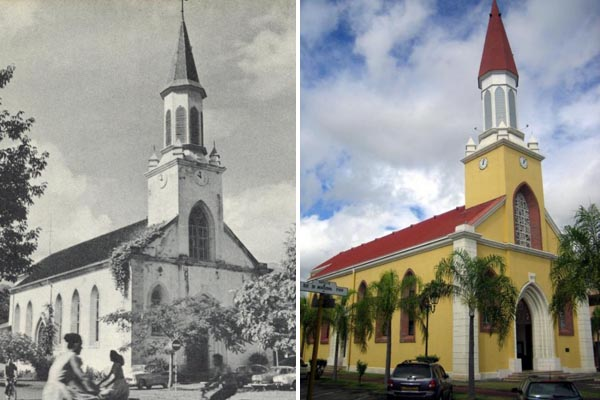 Cathedral in Papeete, Past and Present