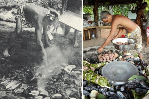 Tahitian Feast, Past and Present