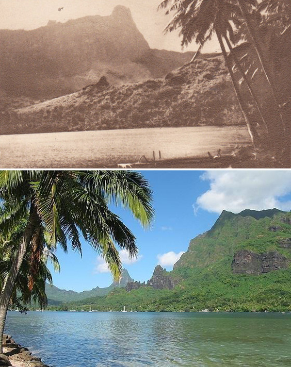 Island of Moorea, Past and Present