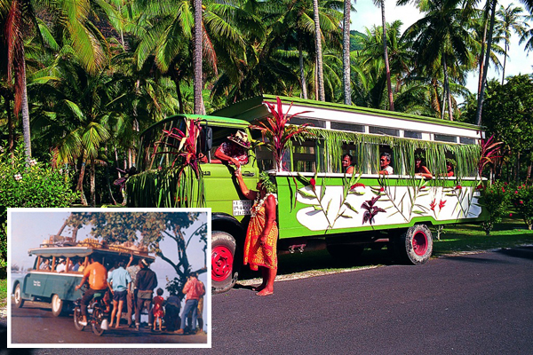 Le Truck in Tahiti, Past and Present