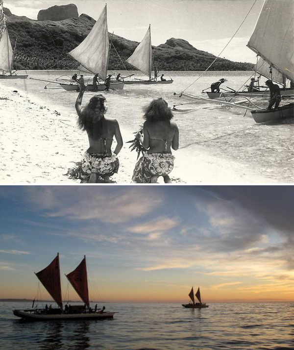 Sailing in Tahiti, Past and Present