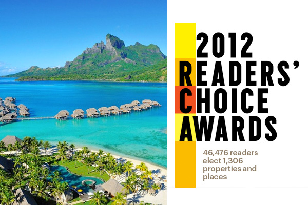 Condé Nast Traveler 2012 Readers' Choice Awards