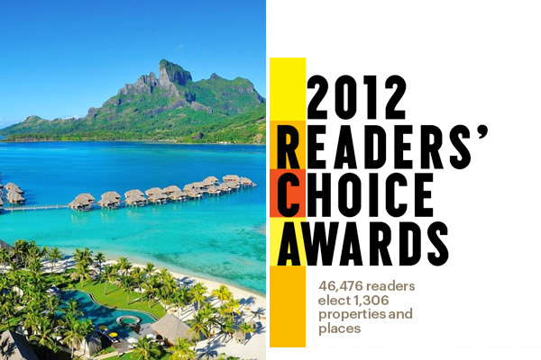 Condé Nast Traveler 2012 Readers' Choice Awards