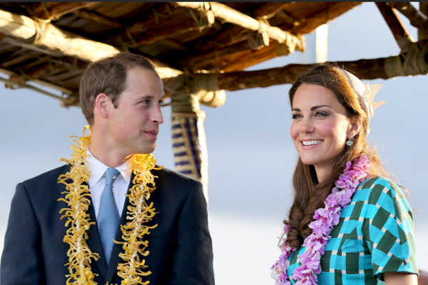 William and Kate on their Diamond Jubilee Tour of the South Pacific
