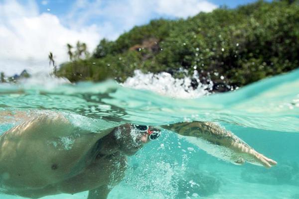 Sofitel Swim, Photo: Wim Lippens