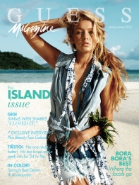 GUESS 2013 Spring-Summer Magazine Cover
