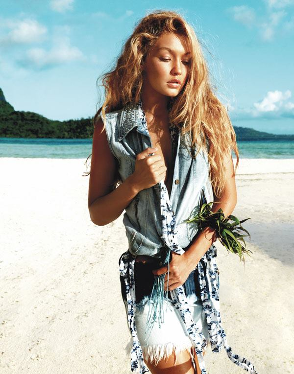 GUESS Photo Shoot, Bora Bora