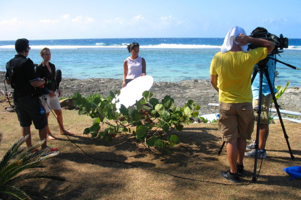 House Hunters International Filming in Moorea, Source: Tahiti In Style