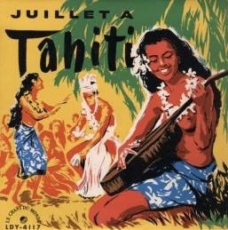 Juillet a Tahiti Album Cover