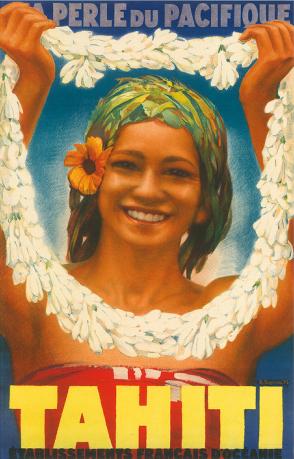 Perle du Pacifique Poster