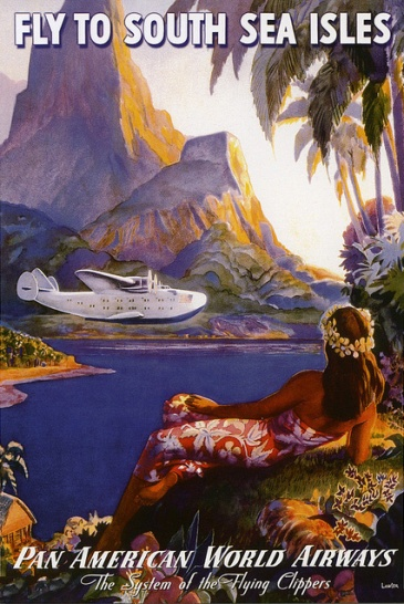 Pan Am South Seas Ad