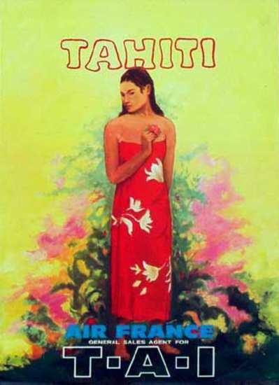 Air France (TAI) Tahiti Ad