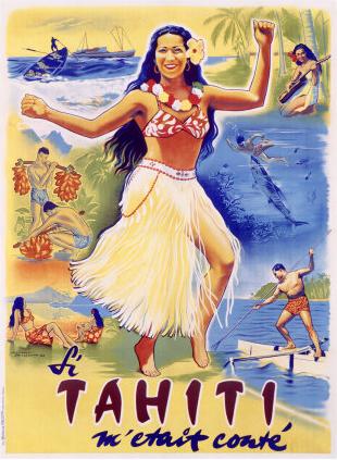 'Si Tahiti' Movie Poster