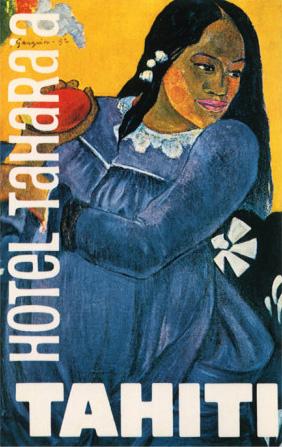 Polynesian Woman by Paul Gauguin