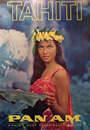 Pan Am Tahiti Ad