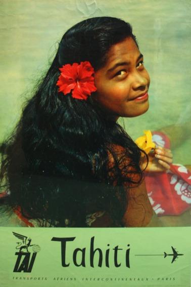 Tahiti Transports (TAI) Poster