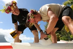 The Amazing Race: Canoe Building