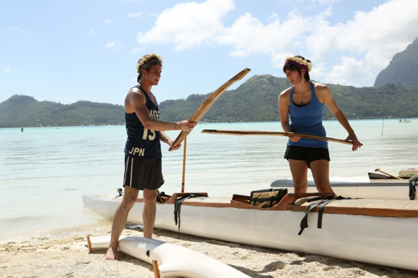 The Amazing Race: Canoe Building