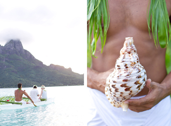 2people1life Wedding in Bora Bora, Photo: Catherine Mead Photography