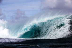 May '13 Teahupo'o Swell, Photo: Brian Bielmann