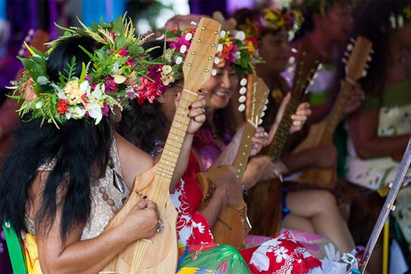 Tahitian Ukulele, Photo: Yannick Laille